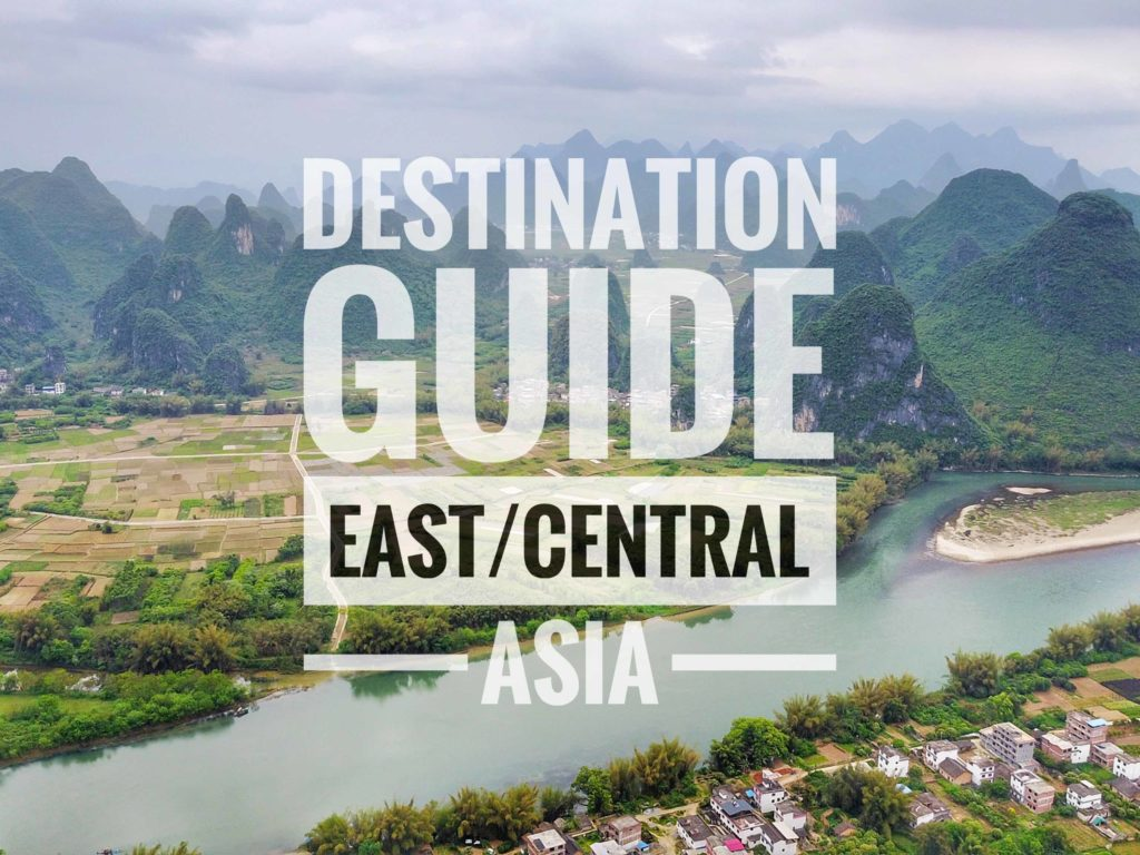Destination Guide East and Central Asia