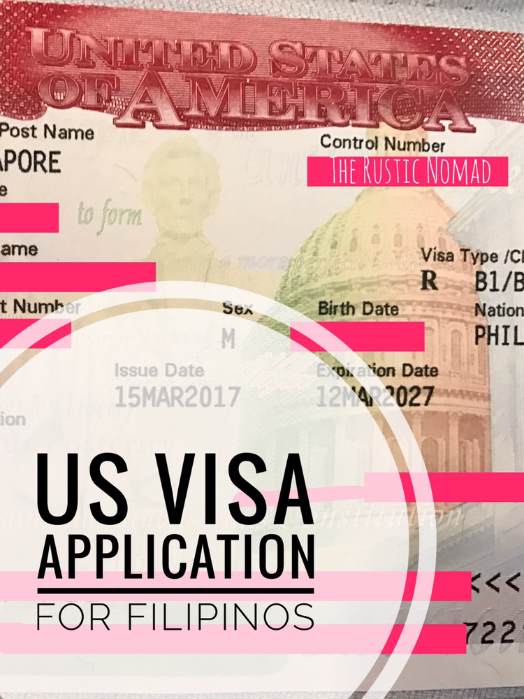 US Visa Application for Filipinos