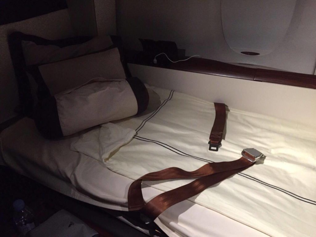Flying With Singapore Airlines Suite Class