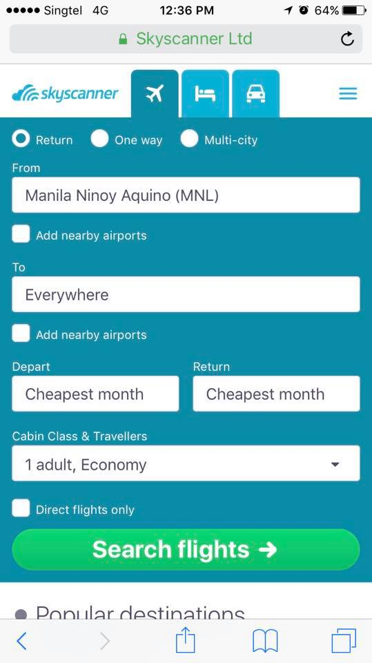 How to Book Cheapest Flights