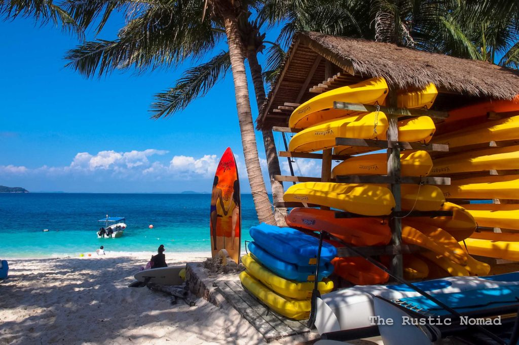 Rawa Island Beaches