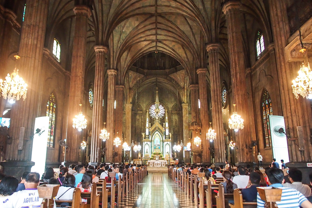 San Sebastian Church Neo Gothic In The Philippines