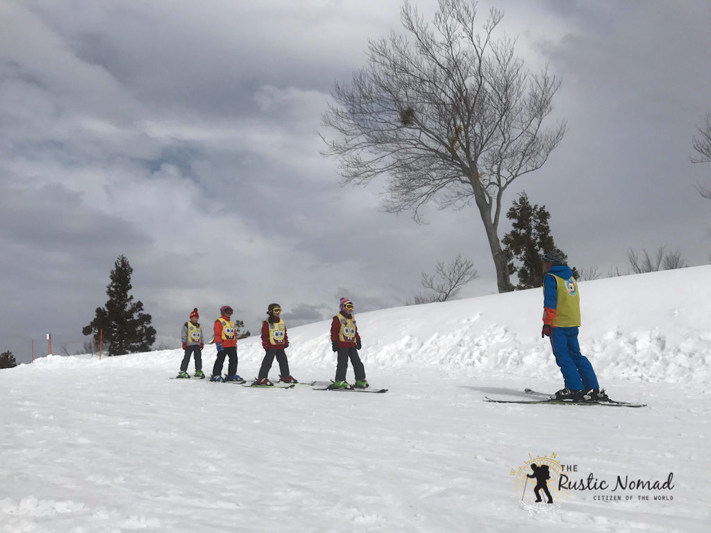 experience snow in gala yuzawa ski resort (only 75 minutes from